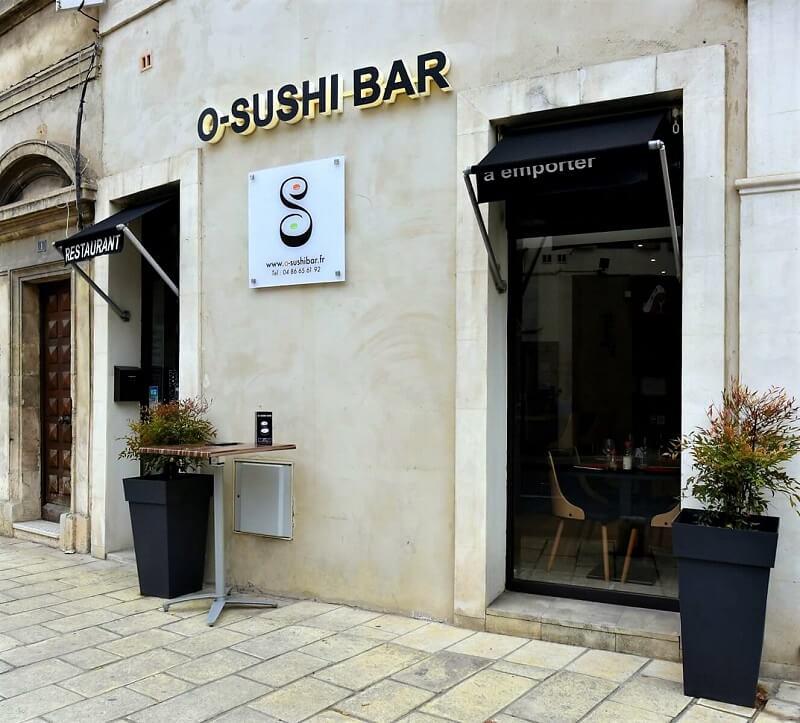 o sushi bar resturant japonais à Saint Rémy de Provence