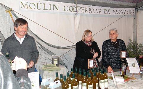 Fête de l'huile nouvelle à Mouriès