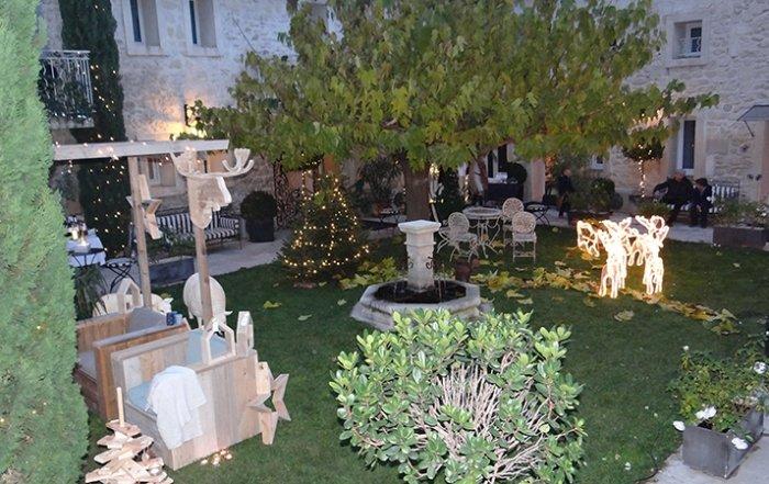 marche de noel à l'hôtel Gounod à Saint Rémy de Provence
