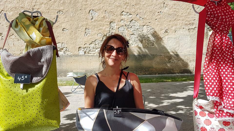 Patricia Romance créatrice accessoires de mode sur Arles et les Alpilles