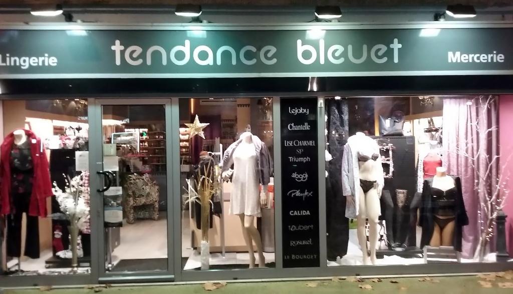 tendance bleuet mercerie lingerie tarascon