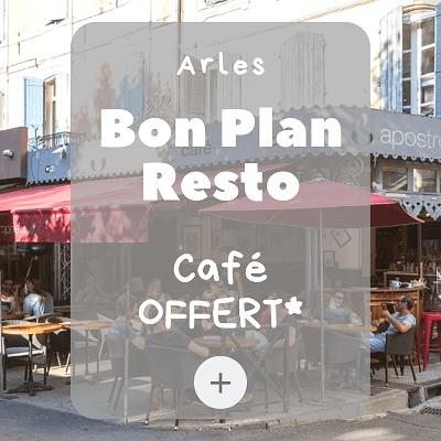 bon plan arles apostrophe café place du Forum