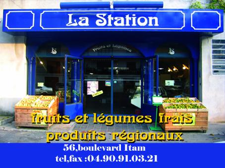 la station tarascon