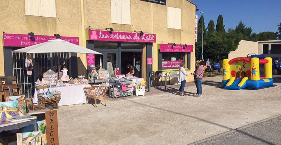 boutique enfant et depot vente jouets Les Trésors de Lola à Saint Rémy de Provence