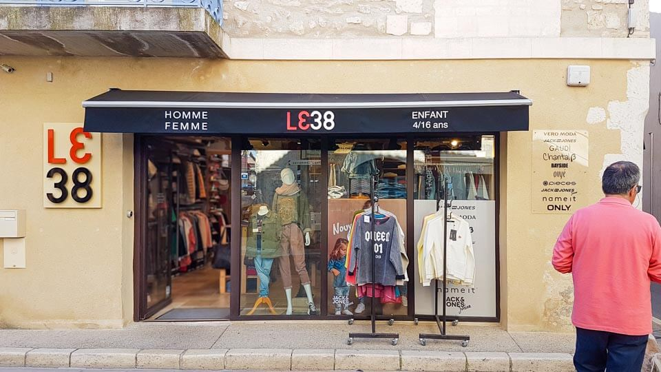 boutique mode le 38 à saint remy de pce alpilles