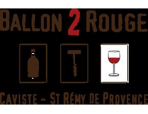ballon 2 rouge caviste saint rémy de provence