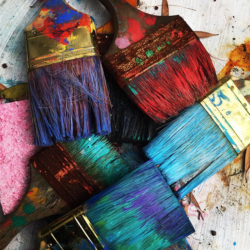 peinture décoration du pays d