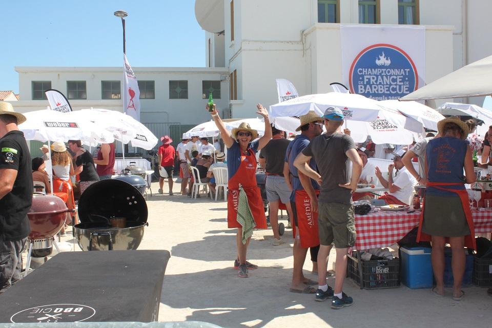 championnat de france de bbq barbecue aux saintes maries de la mer