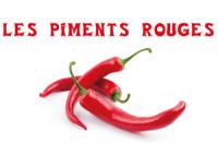 les piments rouges arles