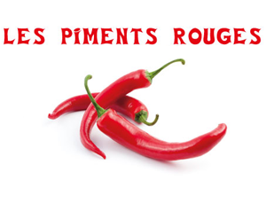 les piments rouges arles