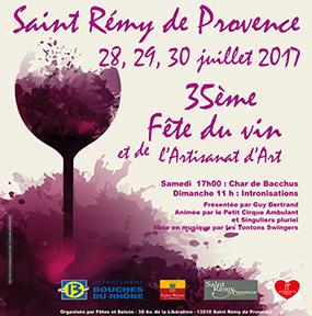 Fête du Vin et de l'Artisanat Saint Rémy de Provence