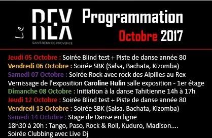 programme octobre le rex saint remy de provence
