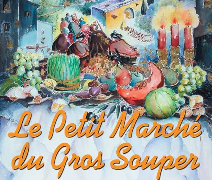 petit marché du gros soupe à saint rémy de provence