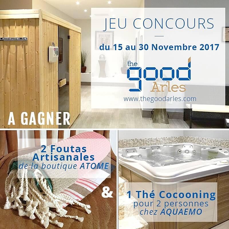 jeux concours novembre 2017 The Good Arles