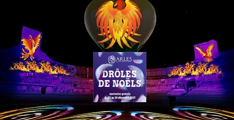 festival drôles de Noël 2017 à Arles