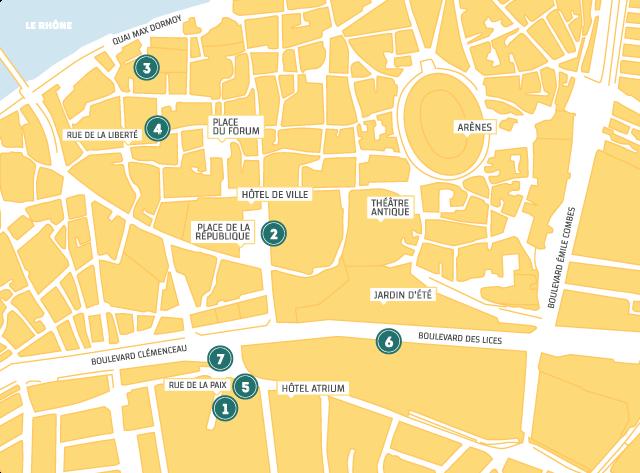 plan des bodegas feria de paques Arles 2018