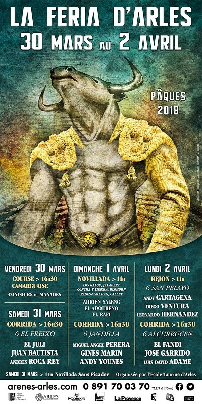 Rencontres arles programme 2018
