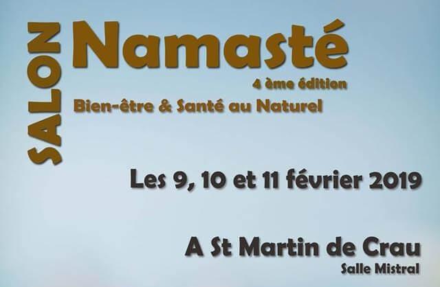 salon namaste 2019 bien etre saint martin de crau