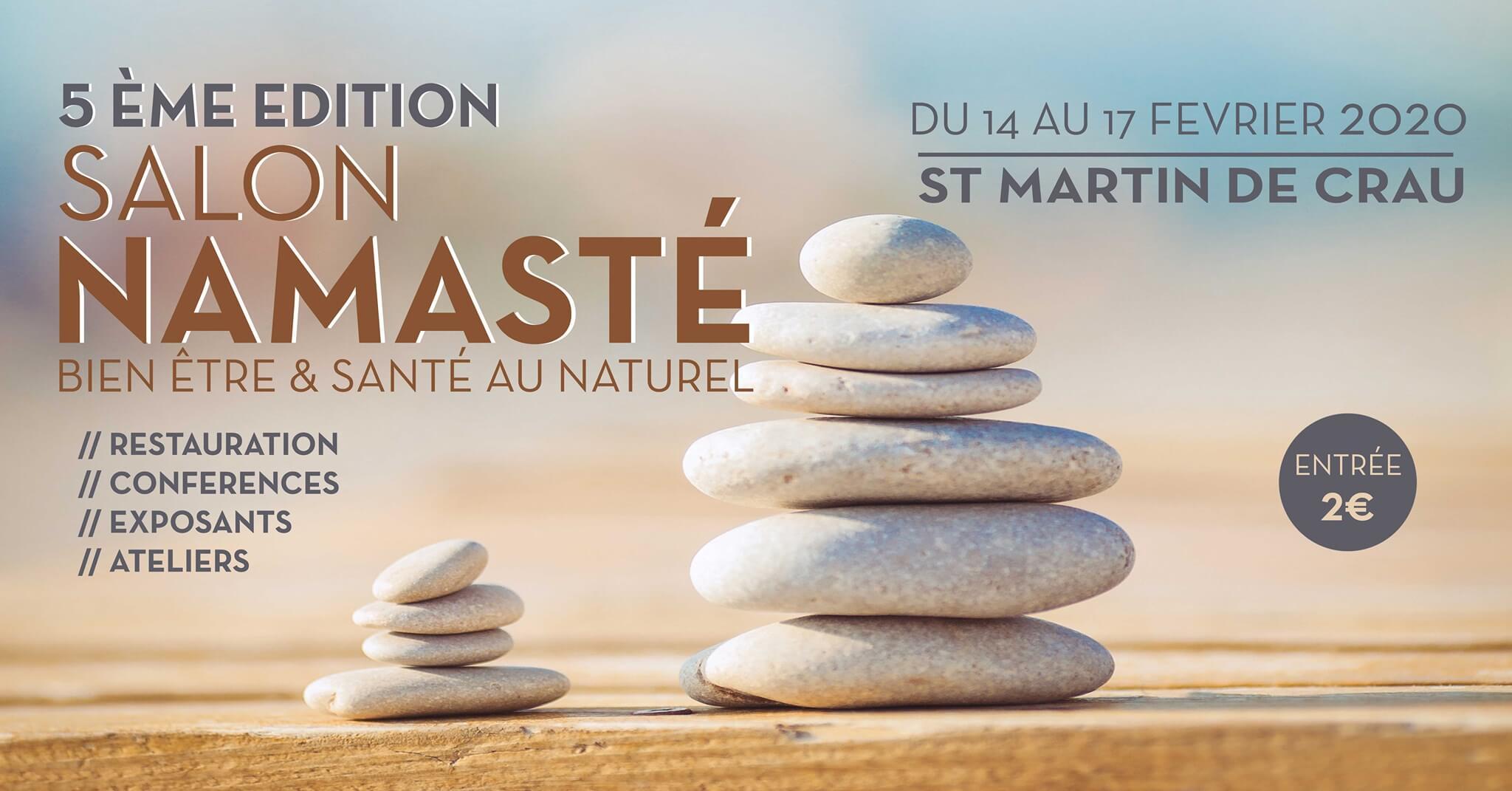 salon namaste 2020 bien etre saint martin de crau