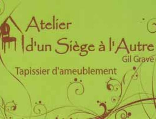 Atelier d'un Siège à l'Autre, tapissier d'ameublement à Fontvieille – Alpilles
