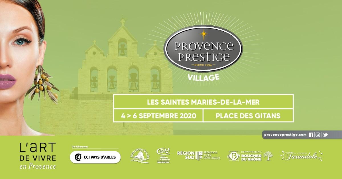 Salon Provence Prestige mars 2020 aux Saintes Maries de la mer