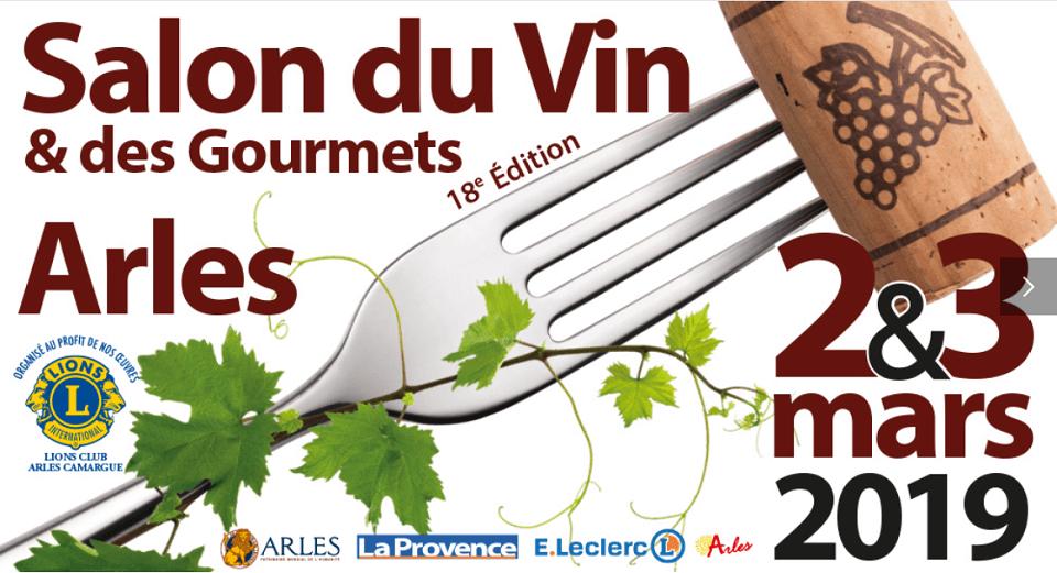 Salon du vin et des gourmets 2019 à Arles