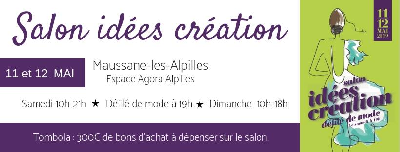 salon idees creation 2019 à Maussane les Alpilles