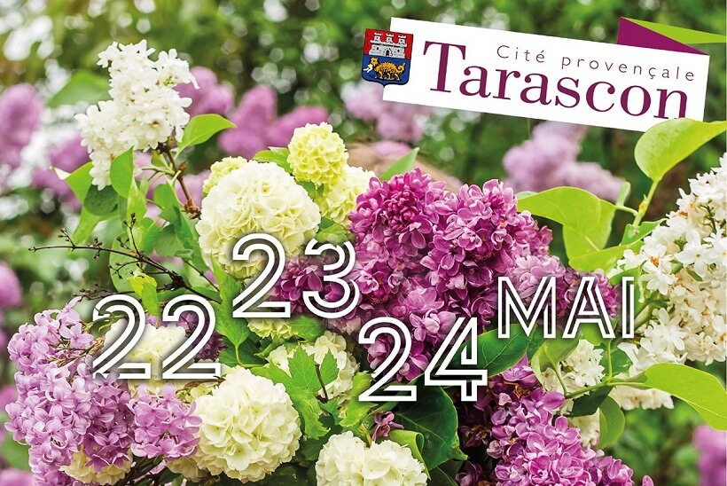 Marché aux Fleurs 2021 à Tarascon