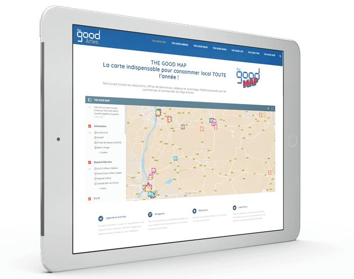 the good map la carte des bons plans du pays d'arles