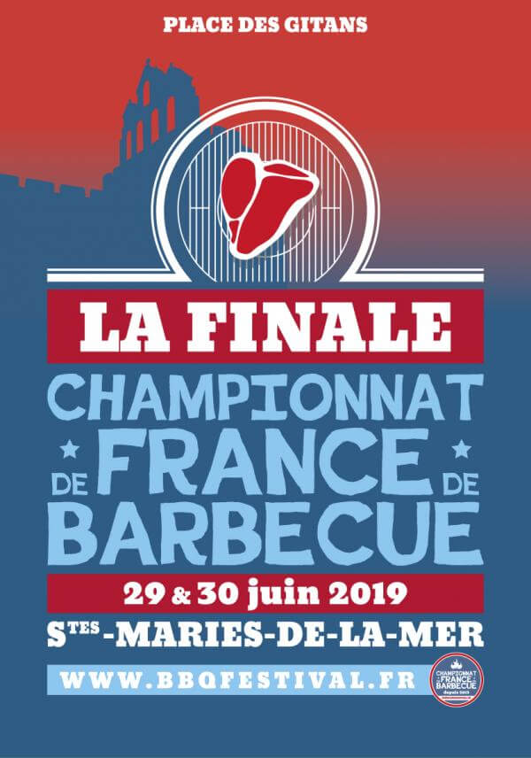 championnat de France de barbecue 2019 aux Saintes Maries de la mer