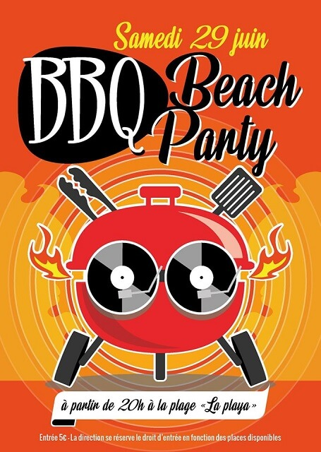 beach party championnat france barbecue 2019