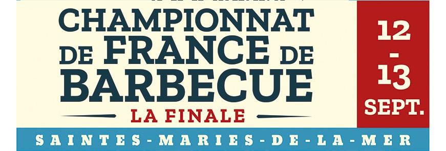 championnat de France de barbecue 2020 aux Saintes Maries de la mer