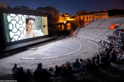 festival du film péplum Arelate août 2018 à Arles