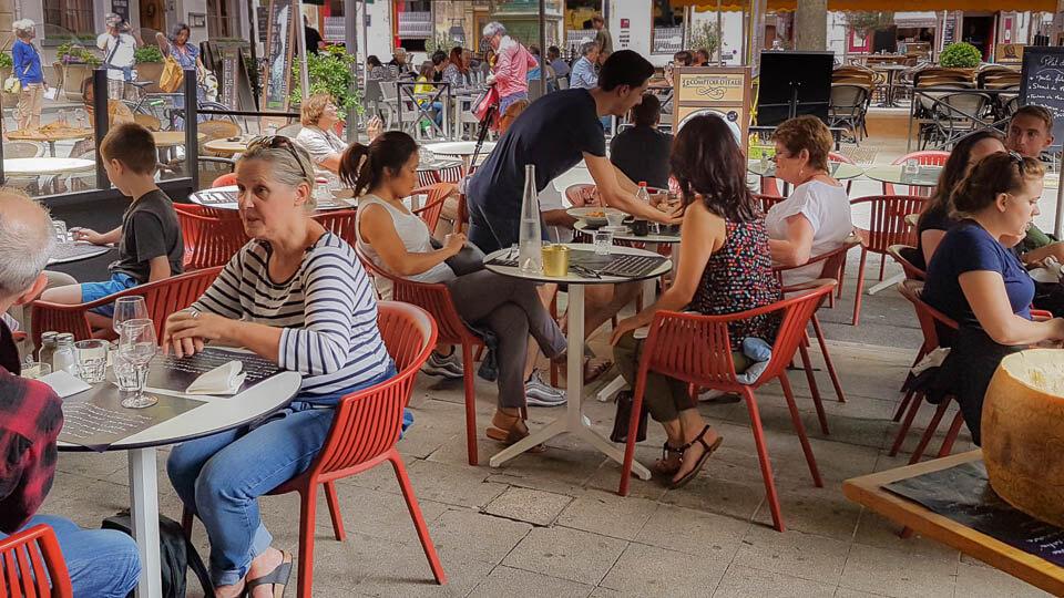 Le chef Dario Monti au Comptoir d'Italie à Arles