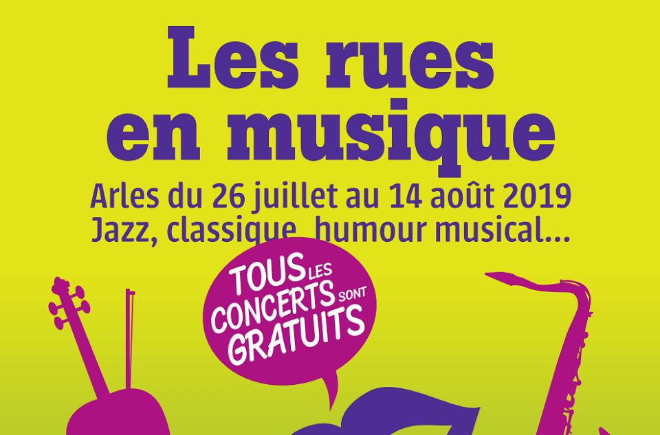 festival Les rues en Musique 2019 à Arles
