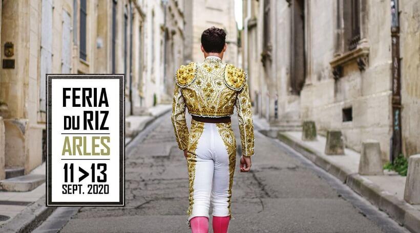 Féria du Riz Arles Septembre 2020, l'affiche de la Féria du Riz 2020 à Arles