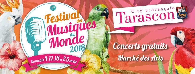 festival Musiques du Monde 2018 à tarascon 13