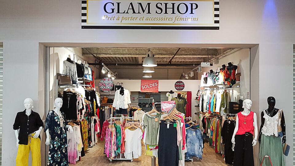 boutique Glamshop Arles mode femme