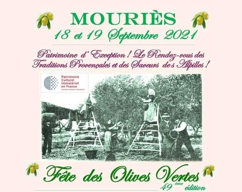 Fête des Olives Vertes 2021 à Mouriès