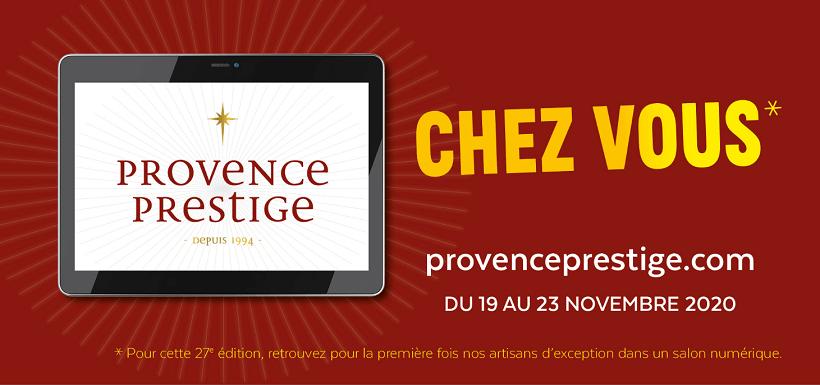 Salon numérique Provence Prestige 2020 Arles