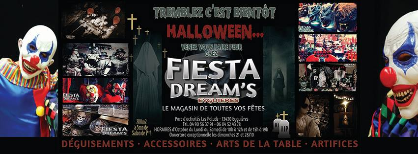 haloween 2018 magasin Fiesta Dream's