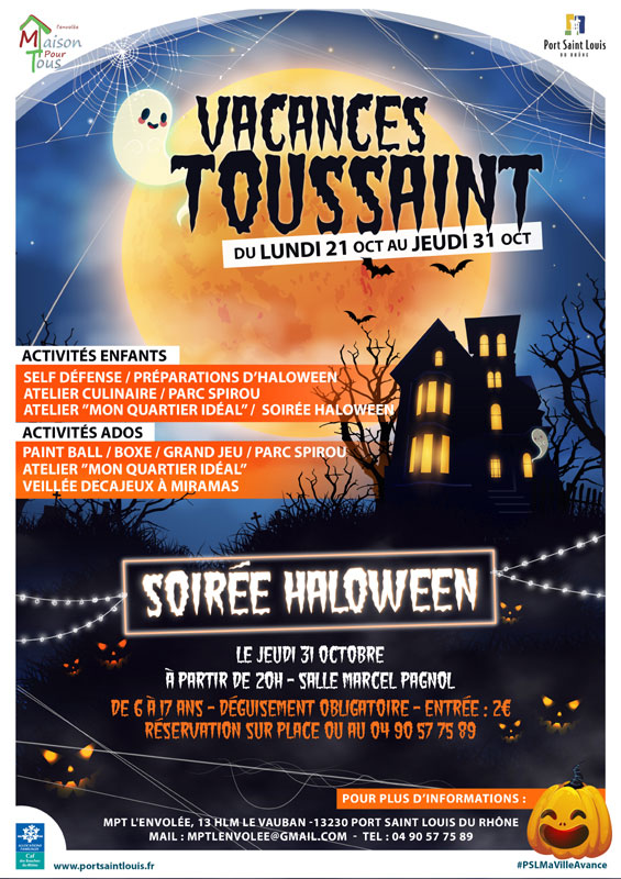 halloween port saint louis