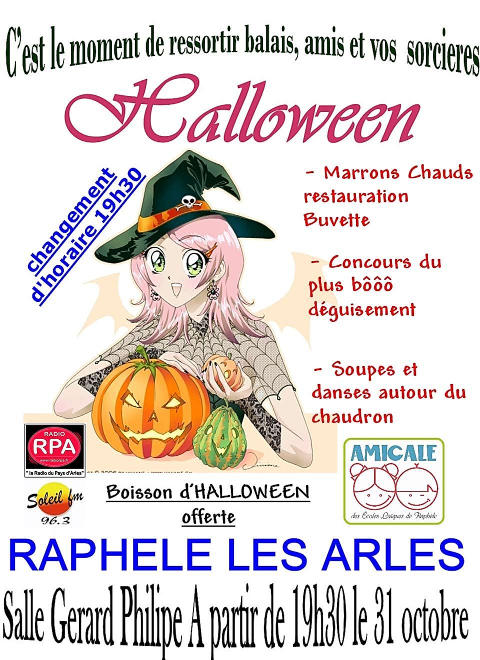 halloween à Raphèle Arles