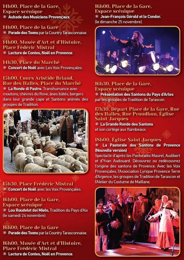 programme Le monde Merveilleux de Noël 2018 à Tarascon