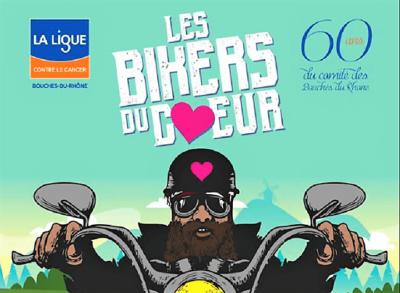 bikers du coeur Fontvieille 2018 rassemblement Harley