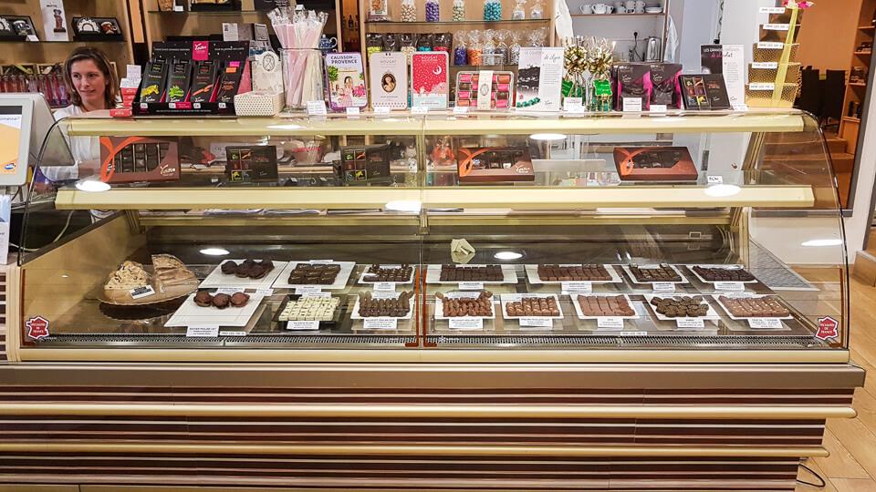 Escapade Gourmande à Arles, chocolaterie, epicerie fine, salon de thé