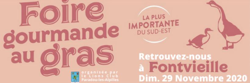 foire au gras 2020 à Fontvieille
