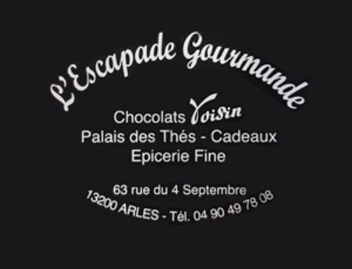 L'Escapade Gourmande, chocolaterie, salon de thé, épicerie fine à Arles
