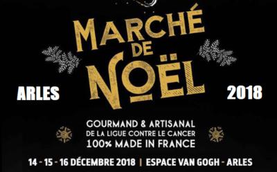 Marché de Noël 2018 Espace Van Gogh à Arles