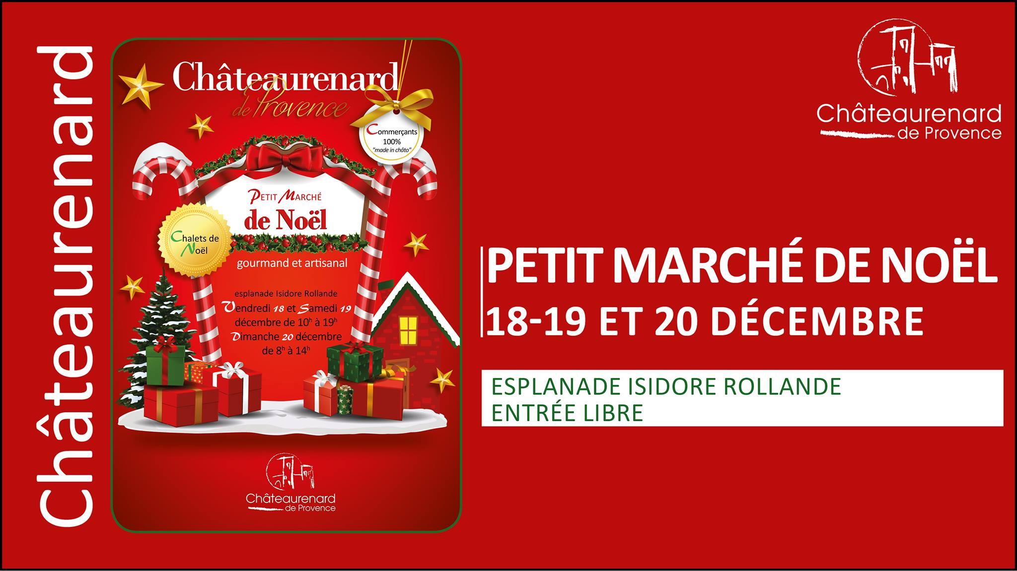 marché de noël à Châteaurenard 2020